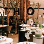Ethos restaurant, Eastcastle Street, London